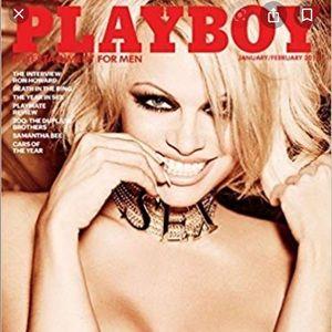 Unopened playboy magazine January/February 2016